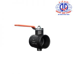 8100 Lever Handle Butterfly Valve Aleum