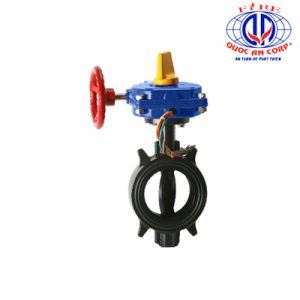 HPW Ductile Wafer 300 PSI Butterfly Valve Aleum