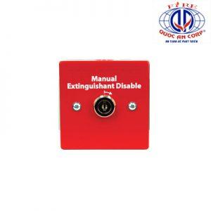 Nút nhấn vô hiệu hóa chữa cháy