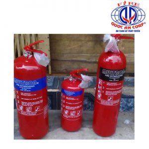 lắp đặt pccc bình bột khô CO2