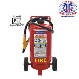 Bình chữa cháy xe đẩy bột khô CO2