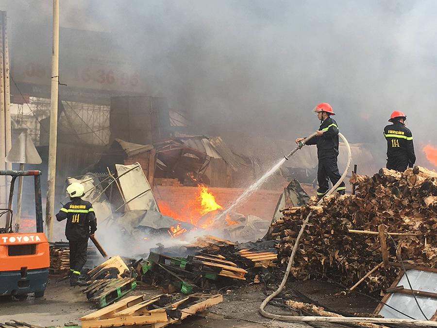 Các biện pháp phòng cháy chữa cháy đối với cơ sở sản xuất, chế biến gỗ