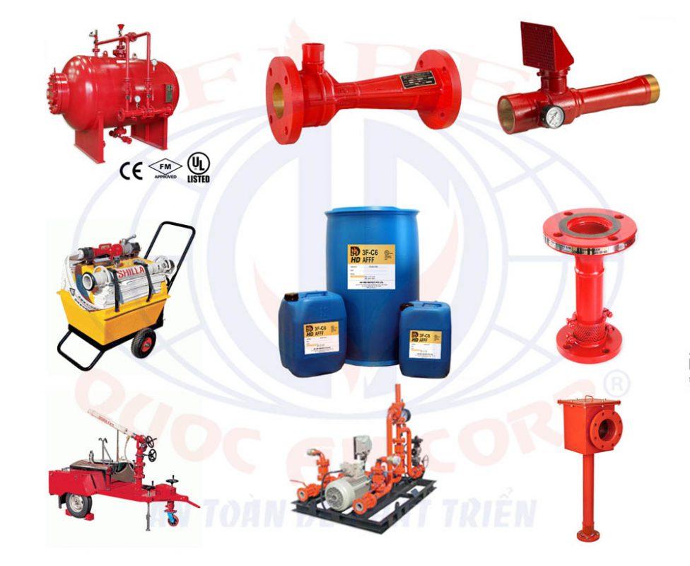 hệ thống chữa cháy Foam- Quốc An pccc