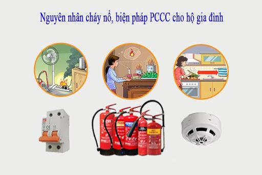 Phương pháp phòng cháy chữa cháy đối với hộ gia đình