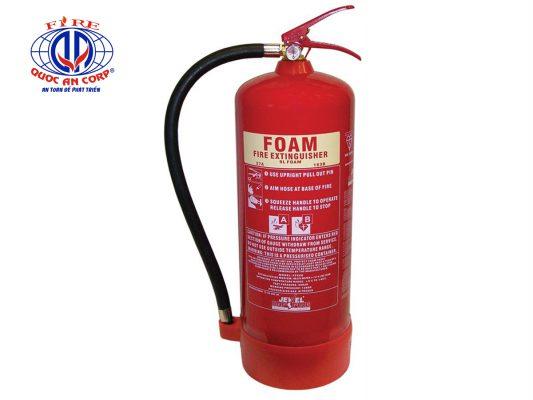 Những lưu ý khi sử dụng bình chữa cháy Foam